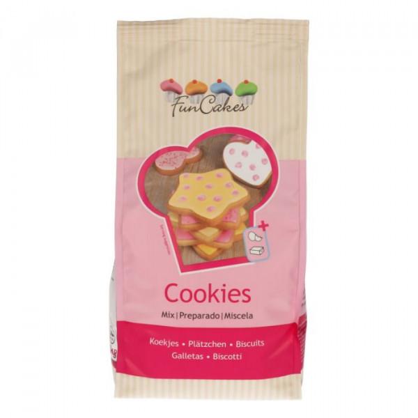 FunCakes Mix für Cookies / Backmischung für Plätzchen 1 kg