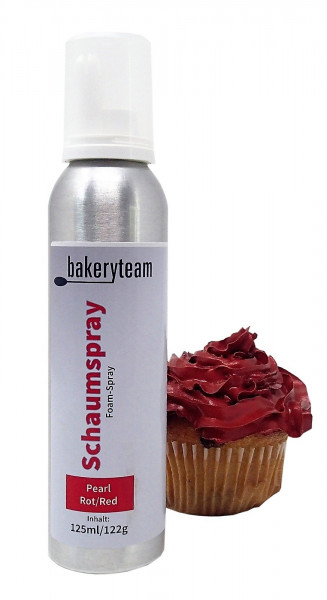 bakeryteam Foam-Spray (Schaumspray) Pearl Red 125ml