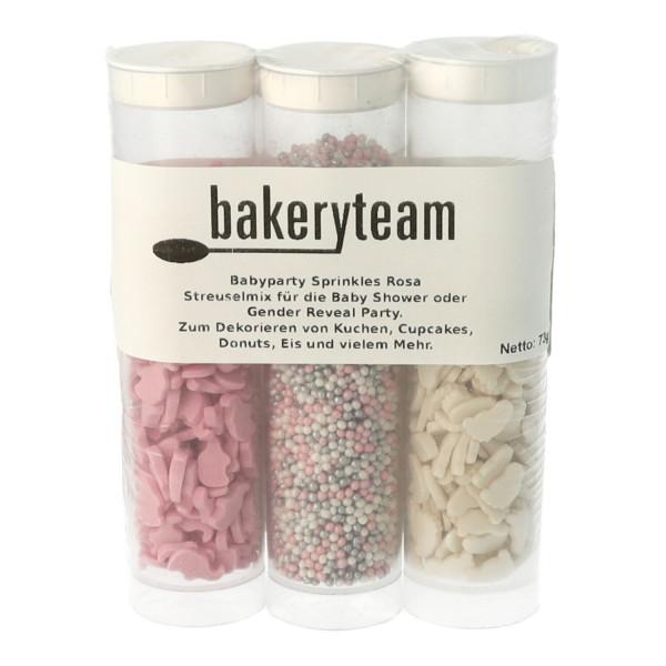 bakeryteam 3er Set Kinderglück rosa 73g