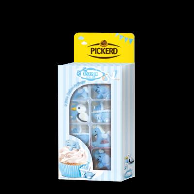 PICKERD Kinderglück Aufleger Blau 8 Stück