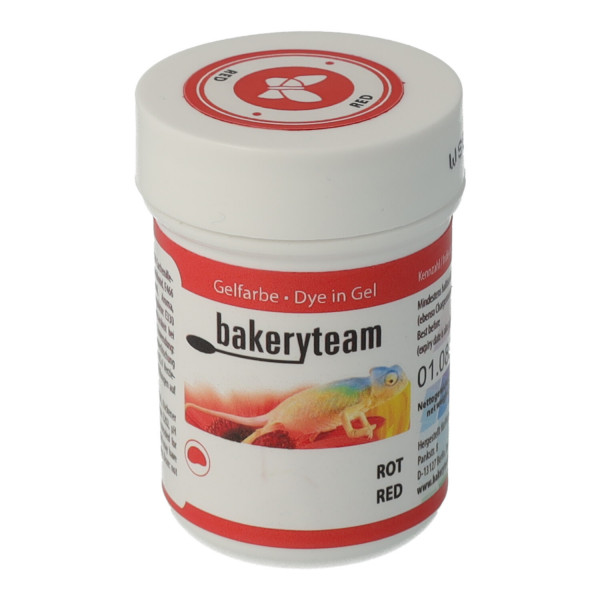 bakeryteam Lebensmittelfarbe 35g Red