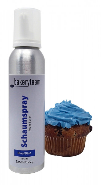 bakeryteam Foam-Spray (Schaumspray) Blue 125ml