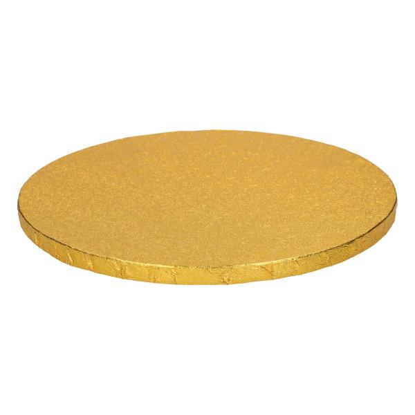 13727-FunCakes-cakedrum-cake_drum-round-rund-gold-cakeplate-platte-tortenplatte-jold-30,5cm-30cm
