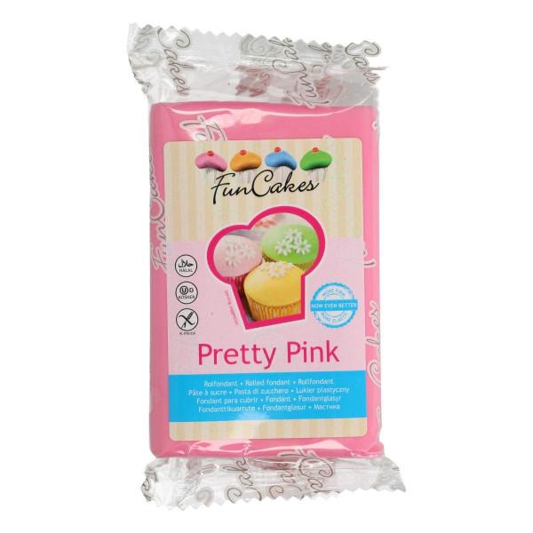 FunCakes Fondant Pretty Pink 250g