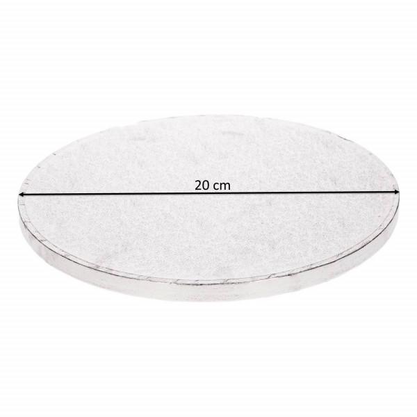 Cake Drum Tortenplatte Rund Ø 20 cm