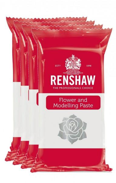 ANGEBOT: RENSHAW Flower & Modelling Paste White 4x250g