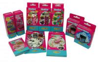 DECOCINO Backset Zucker-Box zum Dekorieren - 10 Teile Zuckerdekor