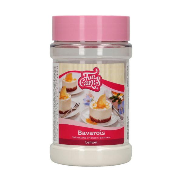 FunCakes Mix für Bavarois/Sahnestand Zitrone 150g