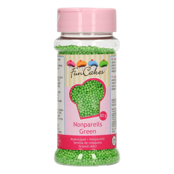 12108-funcakes-nonpareils-green-gruen-pearls-mini-sugarpearls-80g-grassgreen-greeny-G42535