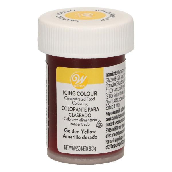 Wilton Glasurfarbe Golden Yellow 28 g