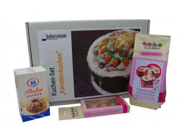 "bakeryteam Kuchen-Set ""Karottenkuchen"""