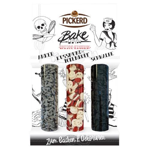 PICKERD Bake Ink - 3er Set Tattoo Edition 66g
