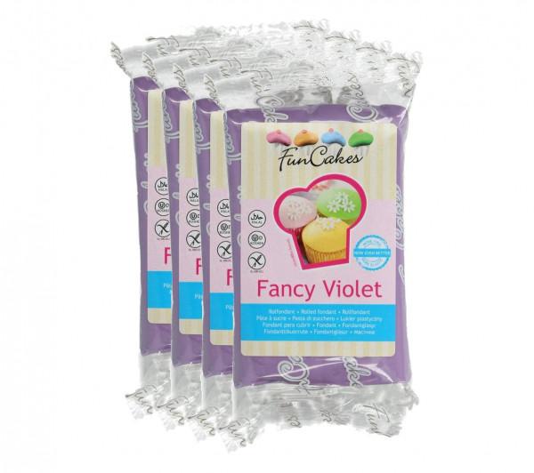 FunCakes Fondant Fancy Violet 4 x 250g