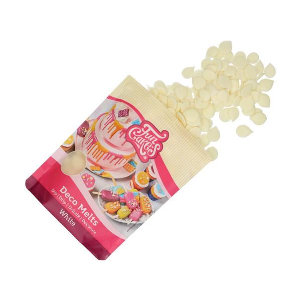FunCakes Deco Melts White / Weiß 250 g