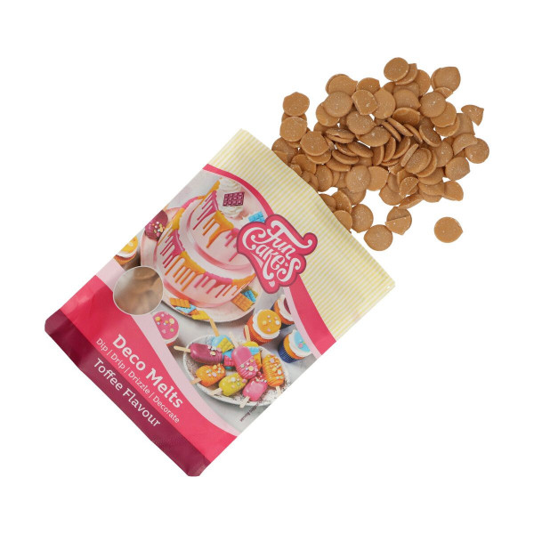 FunCakes Deco Melts Toffee / Toffeegeschmack 250g