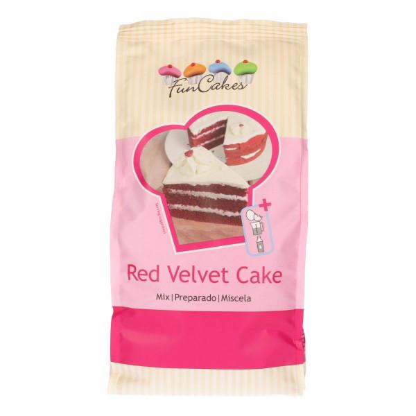 FunCakes Mix für Red Velvet Cake 1 kg