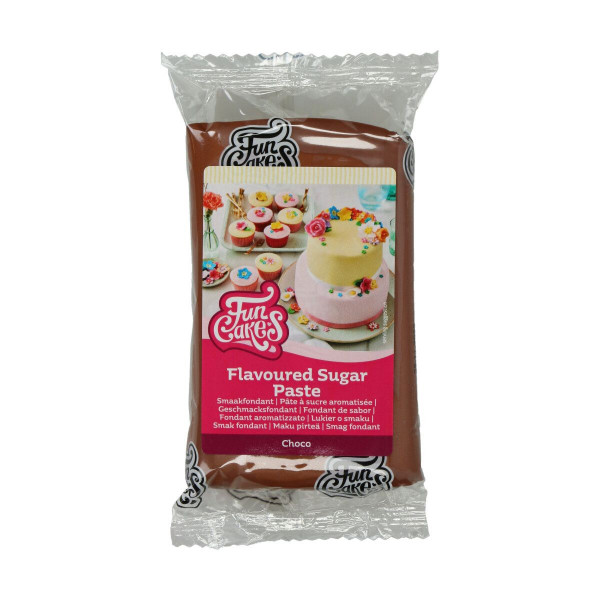 FunCakes Geschmacksfondant Choco 250g