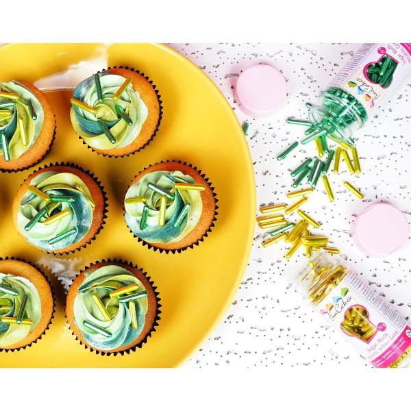 13574-FunCakes-Sugar-Rods-Metallic-Blue-Sprinkles-Streu-Deko-Kuchendekoration-fancy-cute-Streusel-Image