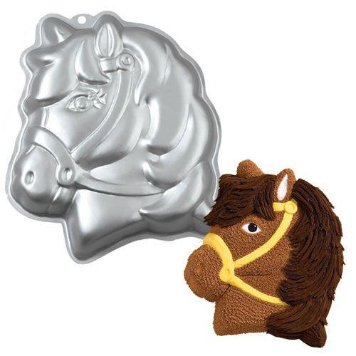 Wilton 3D Backform Pony / Pferdekopf / Einhorn