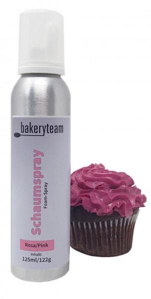 bakeryteam Foam-Spray (Schaumspray) Pink 125ml