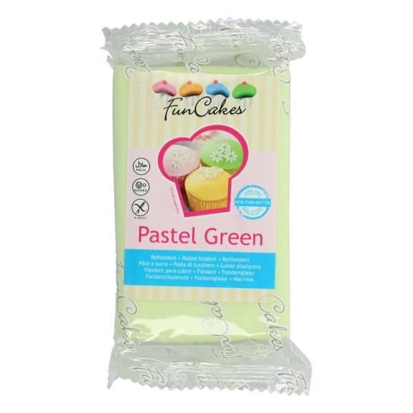 FunCakes Fondant Pastel Green 250g