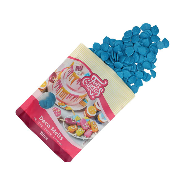 FunCakes Deco Melts Blue / Blau 250 g