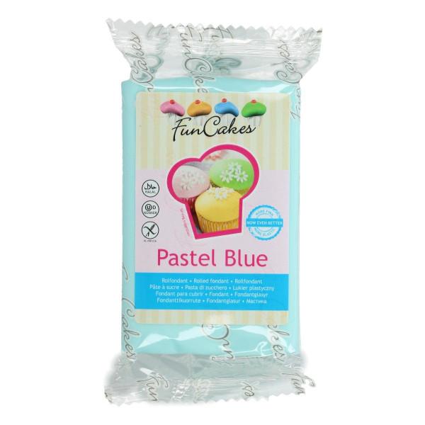 FunCakes Fondant Pastel Blue 250g