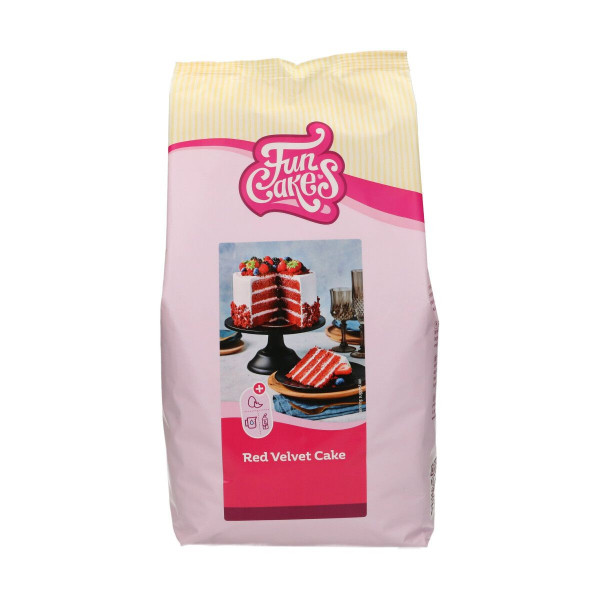 FunCakes Mix fürRed Velvet Cake 4 kg