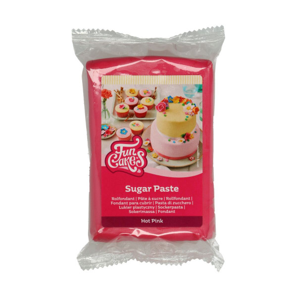 FunCakes Fondant Hot Pink 250g