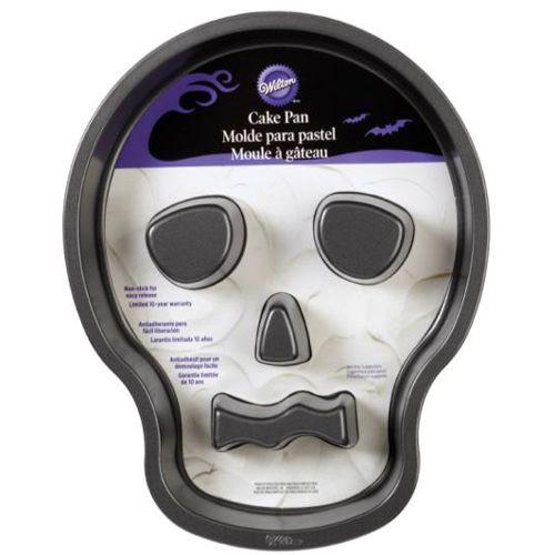 Wilton Backform Skull Totenkopf