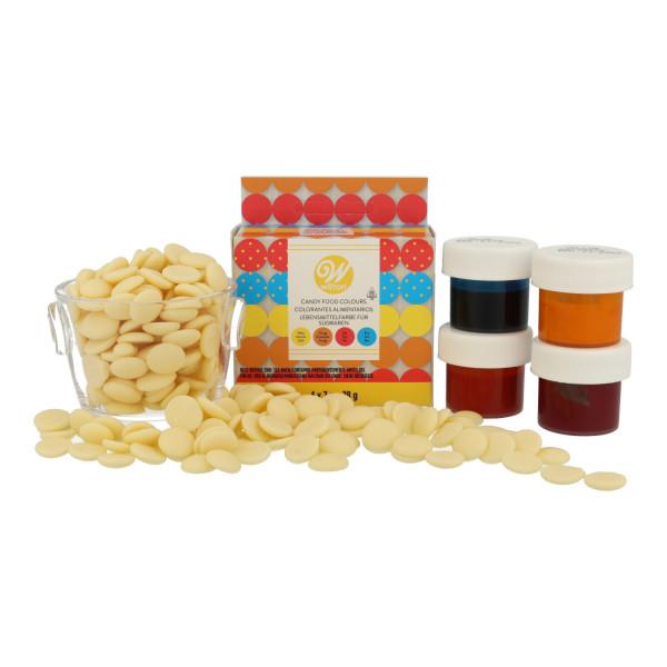 Wilton Candy Colors-Set 4 x 7 g
