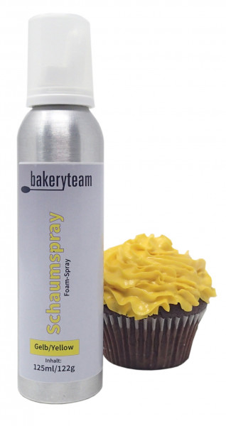 bakeryteam Foam-Spray (Schaumspray) Yellow 125ml