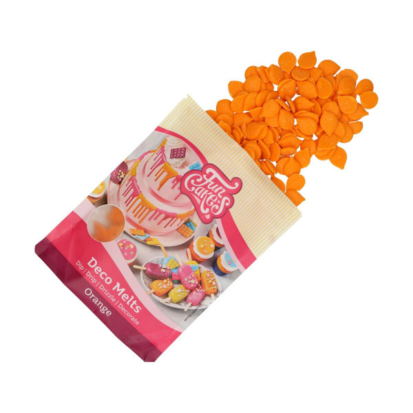 FunCakes Deco Melts Orange 250 g