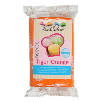 FunCakes Fondant Tiger Orange 250g