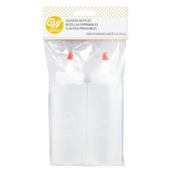 Wilton Mini Kunststoffflaschen 2 Stück