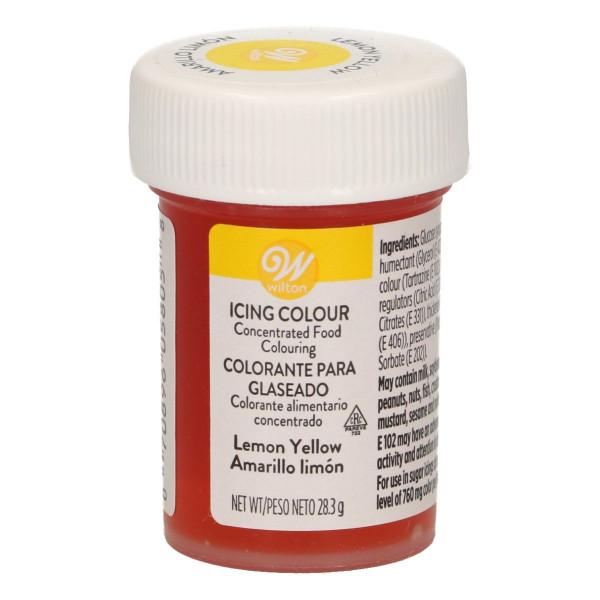 Wilton Glasurfarbe Lemon Yellow 28 g