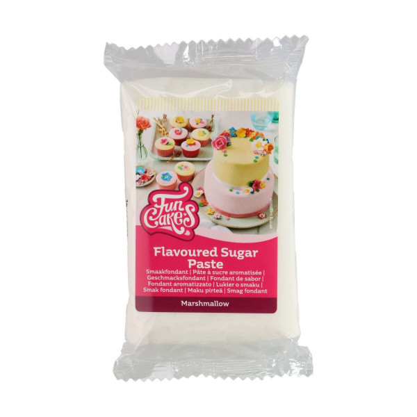 FunCakes Geschmacksfondant Marshmallow 250g