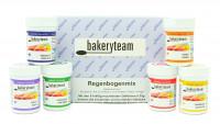bakeryteam Lebensmittelfarben Regenbogen Set 6 x 35g