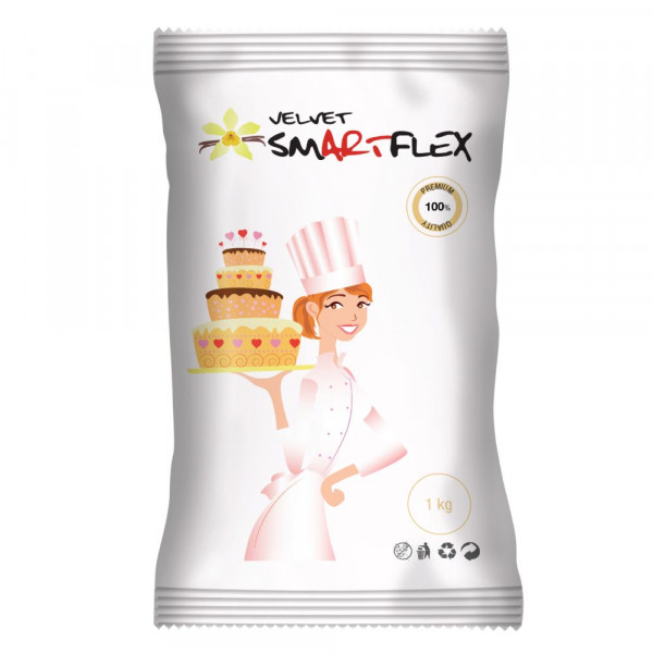 SmartFlex Fondant Weiss Velvet Vanille 1kg