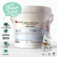 Massa Ticino Fondant Tropic White 7kg