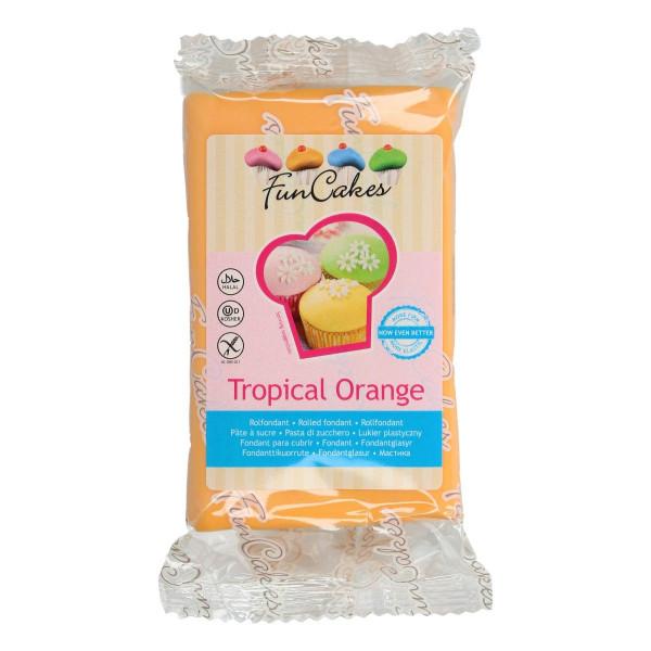 FunCakes Fondant Tropical Orange 250g