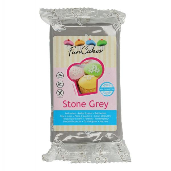 Funcakes Fondant Stone Grey 250g