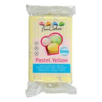 FunCakes Fondant Pastel Yellow 250g