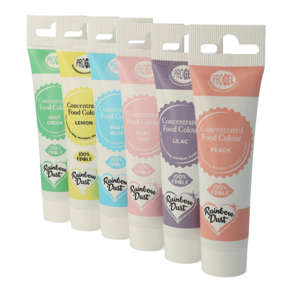 Rainbow Dust ProGel® Multi Pack PASTEL 6x25 ml